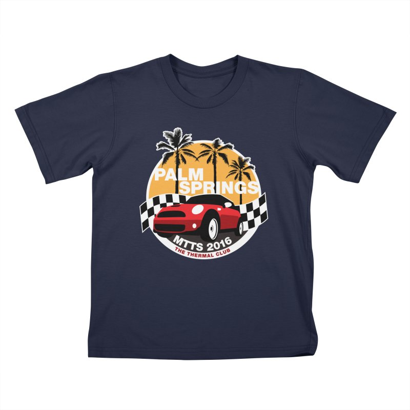 MTTS 2016 - Palm Springs Kids T-Shirt by TwistyMini Motoring Shirts