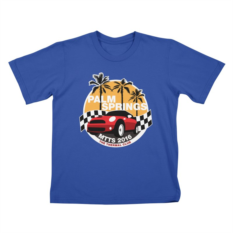 MTTS 2016 - Palm Springs Kids T-Shirt by TwistyMini Motoring Shirts