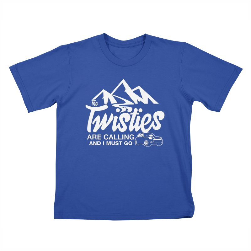 The Twists are Calling Kids T-Shirt by TwistyMini Motoring Shirts