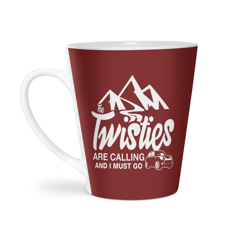 The Twists are Calling Accessories Latte Mug by TwistyMini Motoring Shirts
