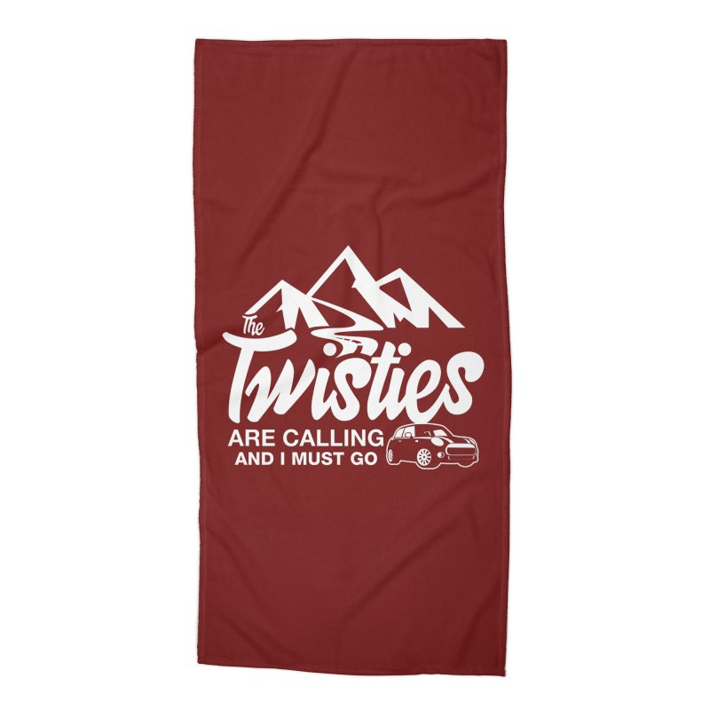 The Twists are Calling Accessories Beach Towel by TwistyMini Motoring Shirts
