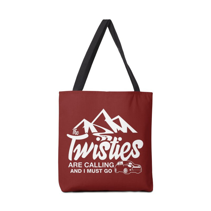 The Twists are Calling Accessories Tote Bag Bag by TwistyMini Motoring Shirts