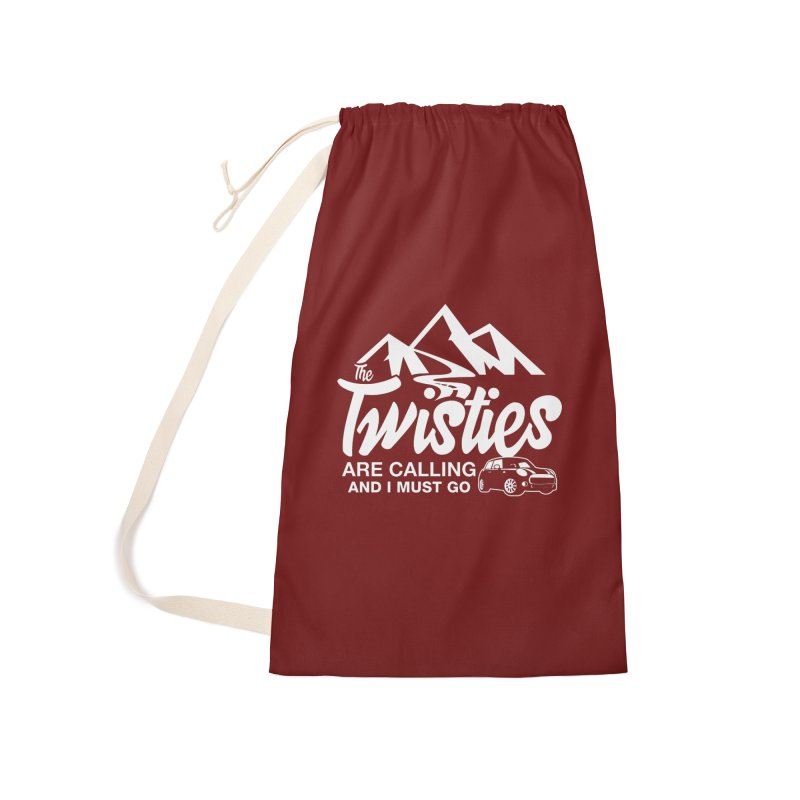The Twists are Calling Accessories Laundry Bag Bag by TwistyMini Motoring Shirts