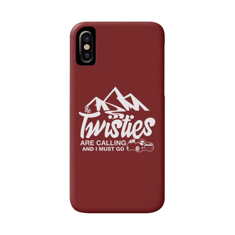 The Twists are Calling Accessories Phone Case by TwistyMini Motoring Shirts
