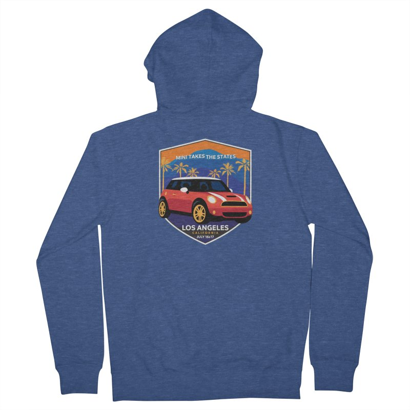 MTTS 2018 - Los Angeles Men's Zip-Up Hoody by TwistyMini Motoring Shirts