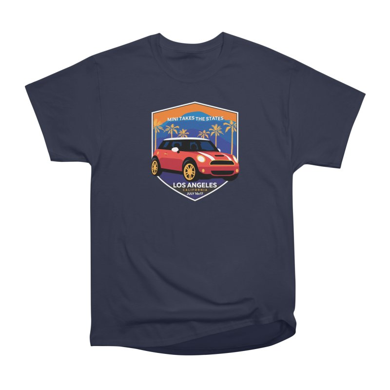 MTTS 2018 - Los Angeles Men's Heavyweight T-Shirt by TwistyMini Motoring Shirts