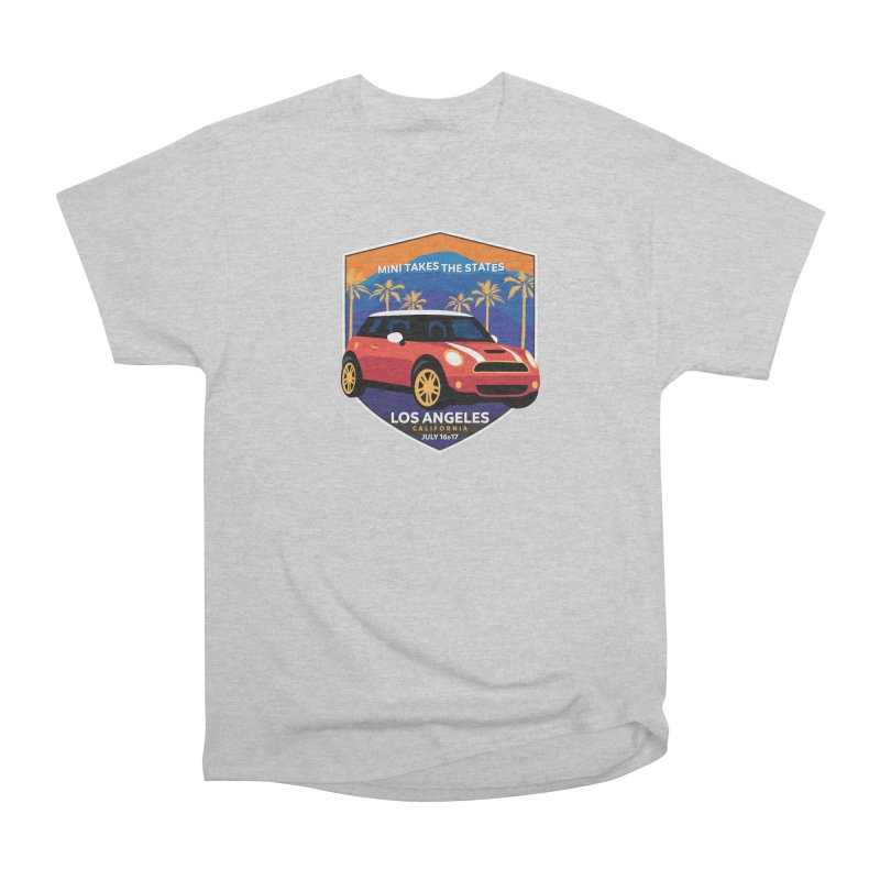 MTTS 2018 - Los Angeles Men's Heavyweight T-Shirt by TwistyMini Motoring Shirts