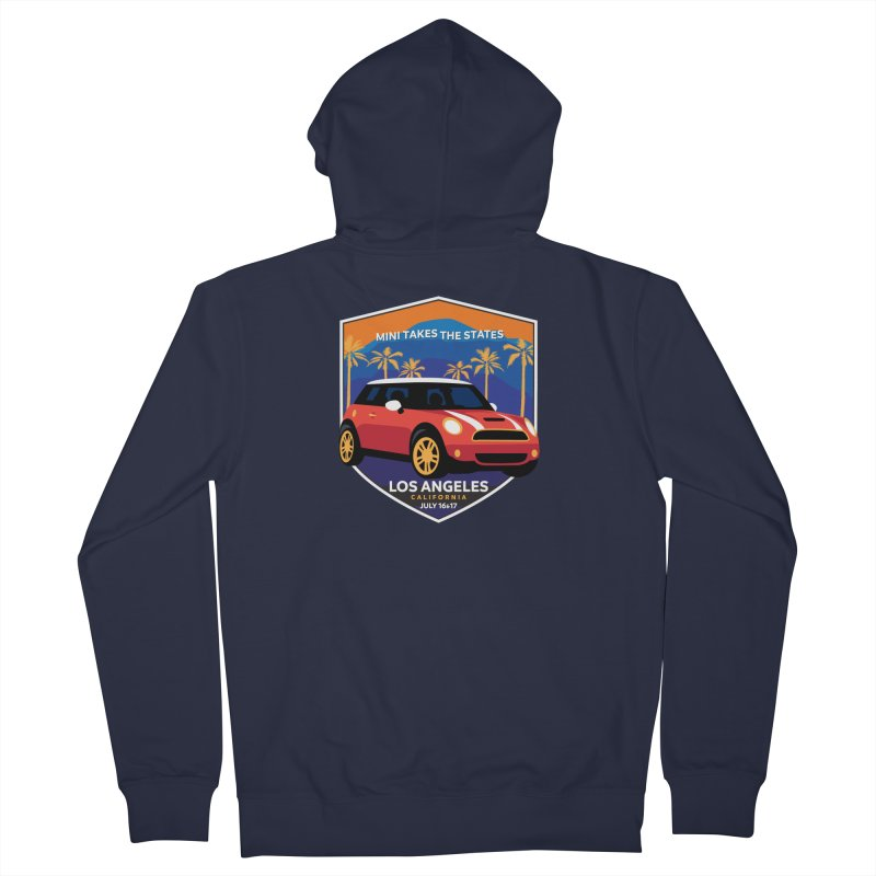 MTTS 2018 - Los Angeles Men's French Terry Zip-Up Hoody by TwistyMini Motoring Shirts