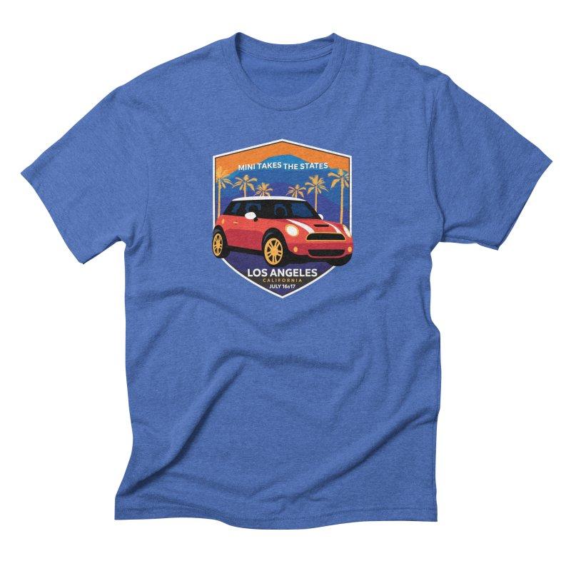 MTTS 2018 - Los Angeles Men's Triblend T-Shirt by TwistyMini Motoring Shirts