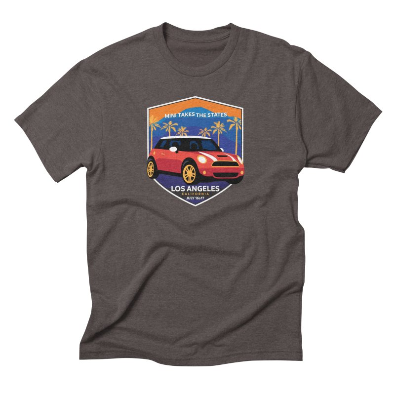 MTTS 2018 - Los Angeles Men's Triblend T-Shirt by TwistyMini Motoring Shirts