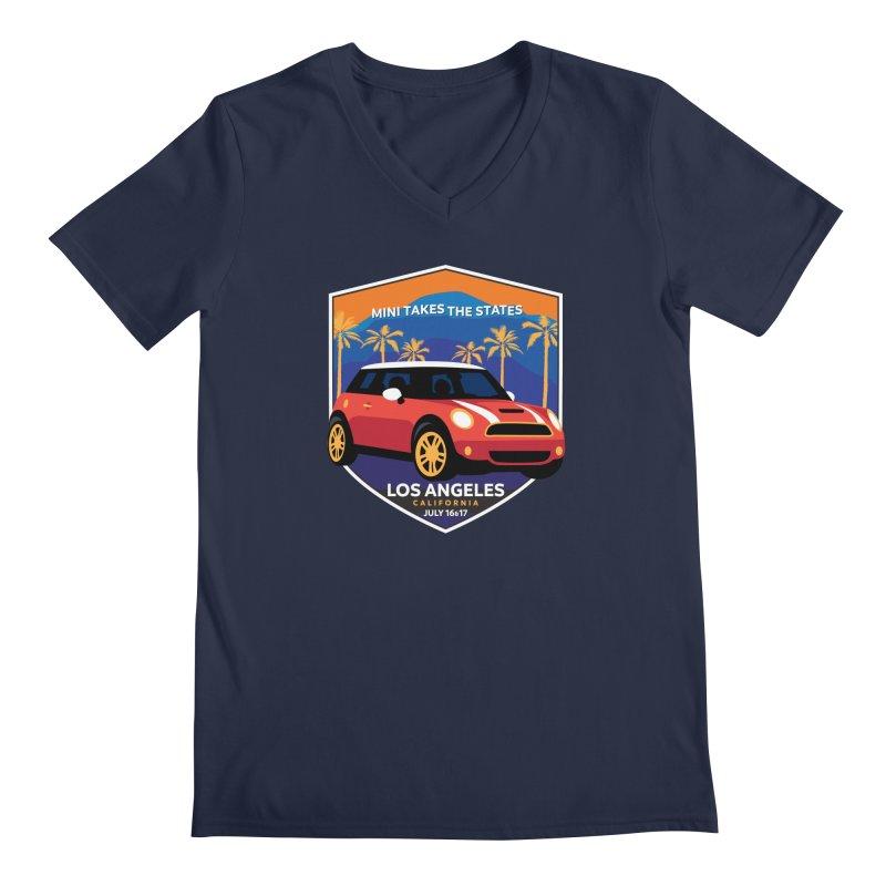 MTTS 2018 - Los Angeles Men's Regular V-Neck by TwistyMini Motoring Shirts