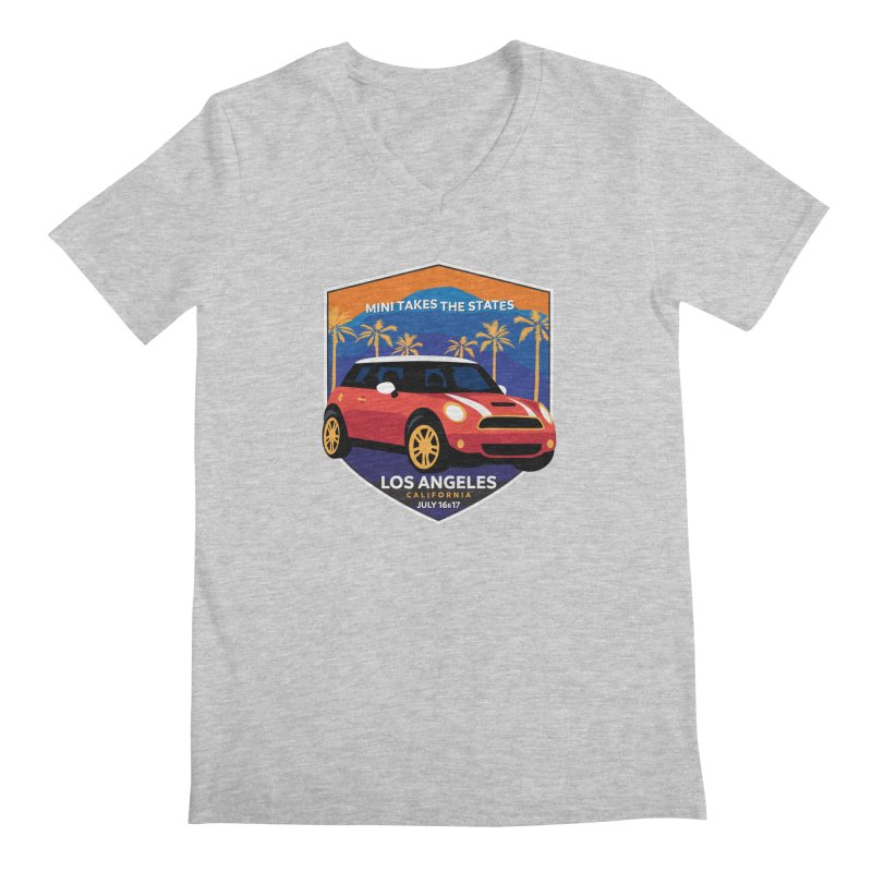 MTTS 2018 - Los Angeles Men's Regular V-Neck by TwistyMini Motoring Shirts