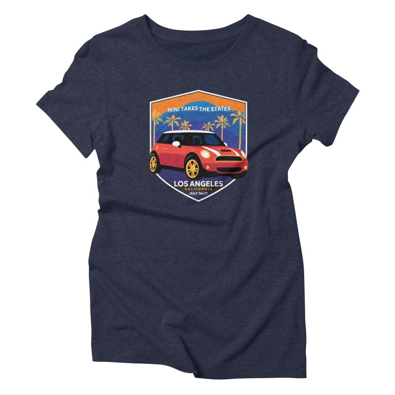 MTTS 2018 - Los Angeles Women's T-Shirt by TwistyMini Motoring Shirts