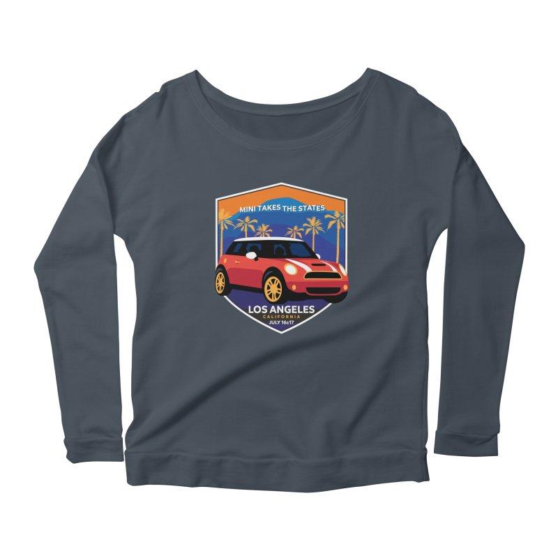 MTTS 2018 - Los Angeles Women's Scoop Neck Longsleeve T-Shirt by TwistyMini Motoring Shirts