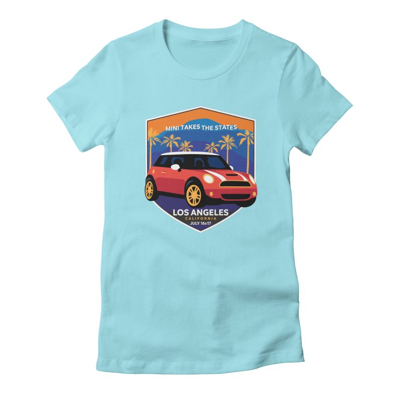 MTTS 2018 - Los Angeles Women's Fitted T-Shirt by TwistyMini Motoring Shirts