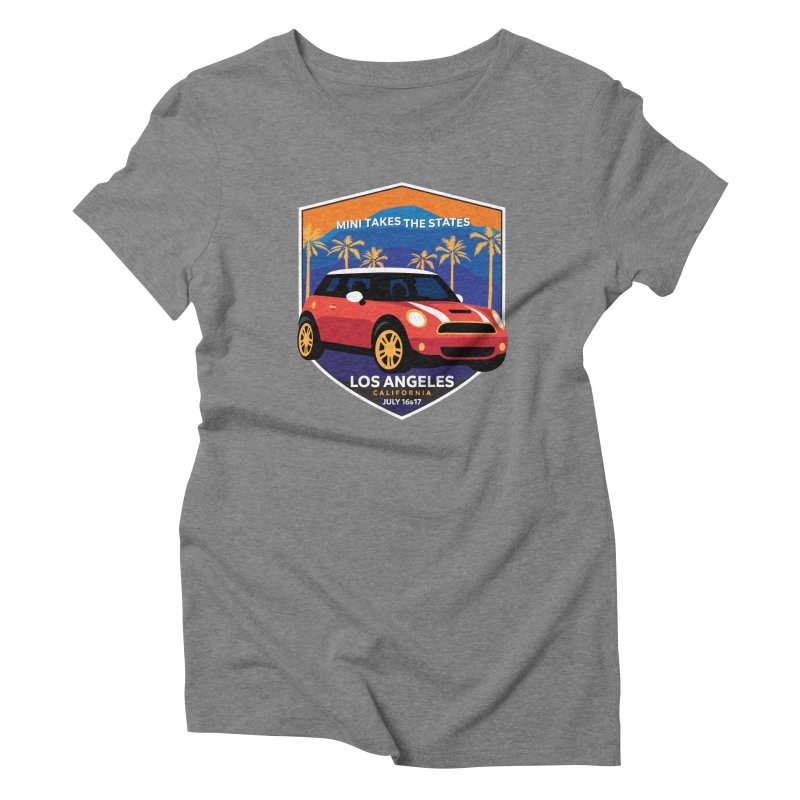 MTTS 2018 - Los Angeles Women's Triblend T-Shirt by TwistyMini Motoring Shirts