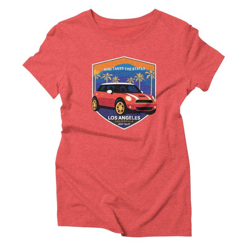 MTTS 2018 - Los Angeles Women's Triblend T-Shirt by TwistyMini Motoring Shirts