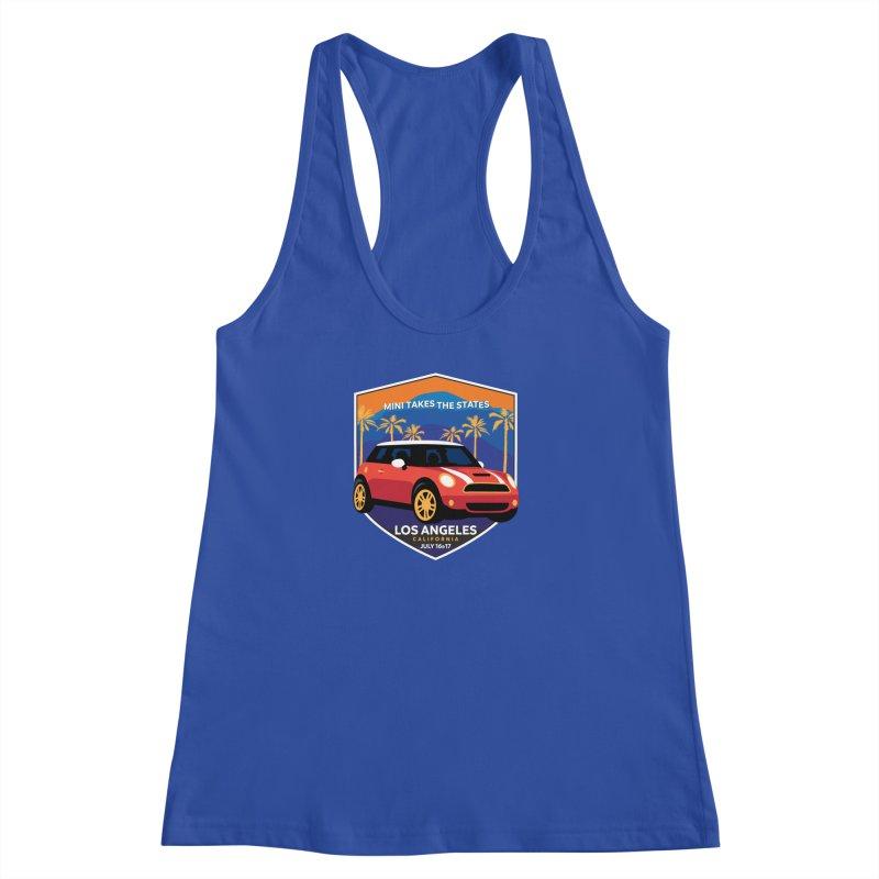 MTTS 2018 - Los Angeles Women's Racerback Tank by TwistyMini Motoring Shirts