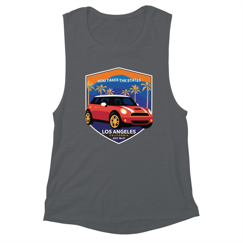 MTTS 2018 - Los Angeles Women's Muscle Tank by TwistyMini Motoring Shirts