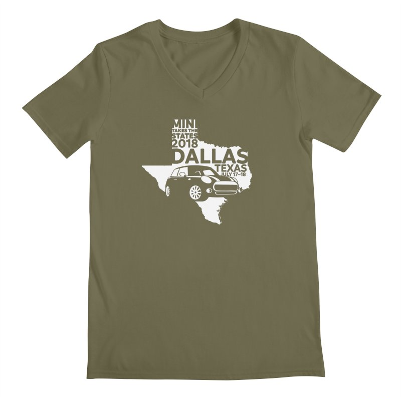MTTS 2018 - Dallas Men's V-Neck by TwistyMini Motoring Shirts
