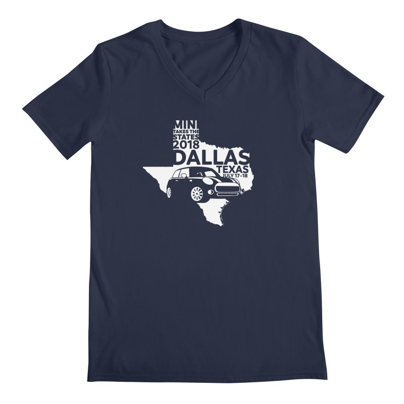 MTTS 2018 - Dallas Men's Regular V-Neck by TwistyMini Motoring Shirts