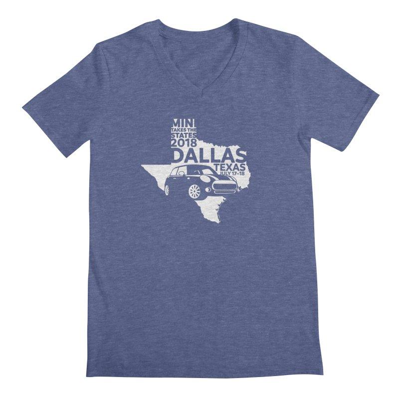 MTTS 2018 - Dallas Men's V-Neck by TwistyMini Motoring Shirts
