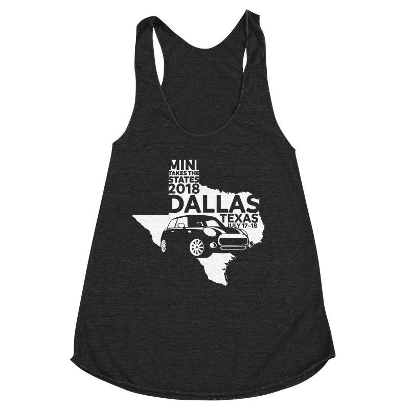 MTTS 2018 - Dallas Women's Racerback Triblend Tank by TwistyMini Motoring Shirts