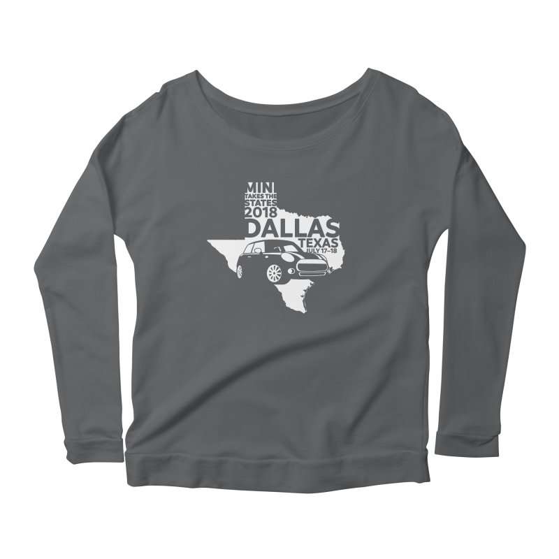 MTTS 2018 - Dallas Women's Scoop Neck Longsleeve T-Shirt by TwistyMini Motoring Shirts