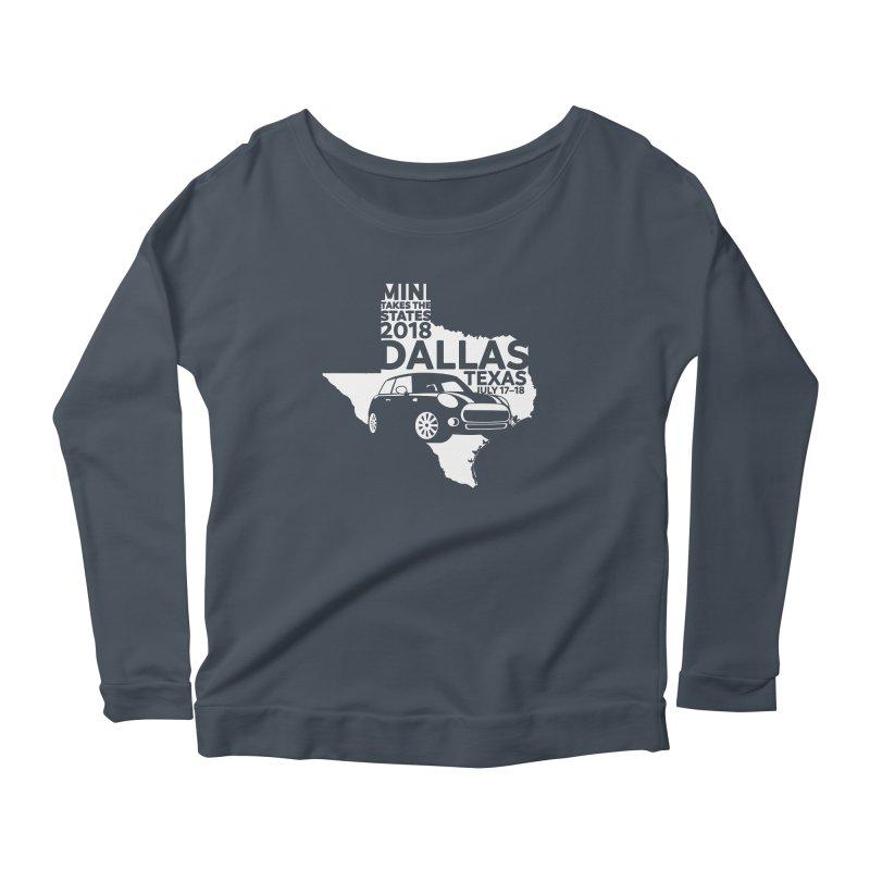 MTTS 2018 - Dallas Women's Scoop Neck Longsleeve T-Shirt by TwistyMini Motoring Shirts
