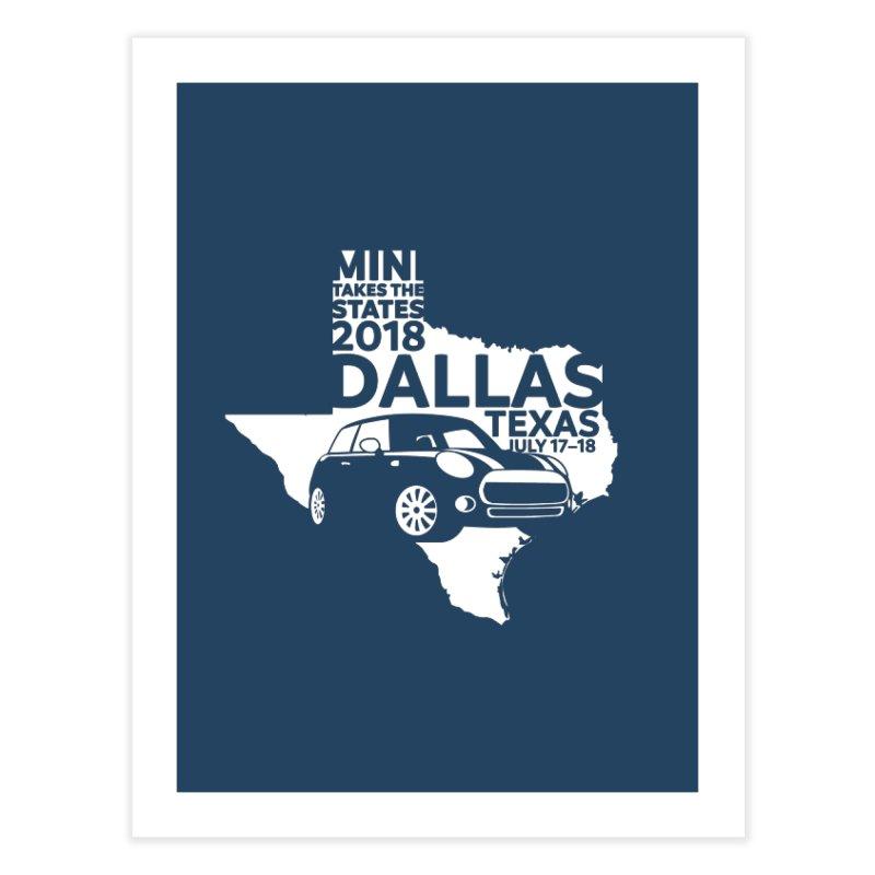 MTTS 2018 - Dallas Home Fine Art Print by TwistyMini Motoring Shirts