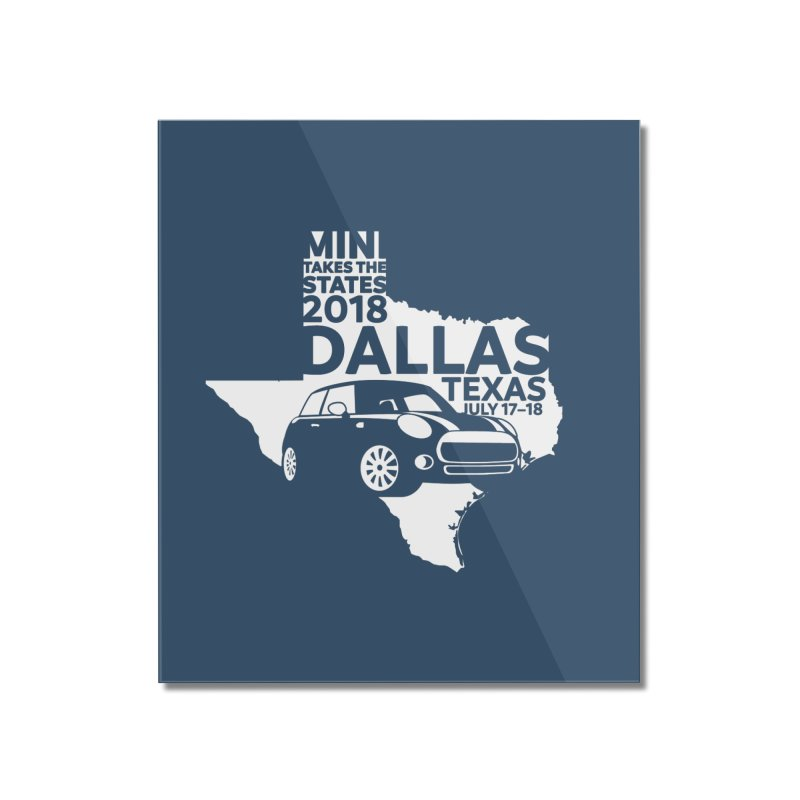 MTTS 2018 - Dallas Home Mounted Acrylic Print by TwistyMini Motoring Shirts