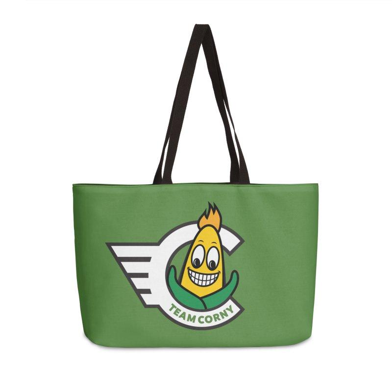 Team Corny 2018 Accessories Weekender Bag Bag by TwistyMini Motoring Shirts