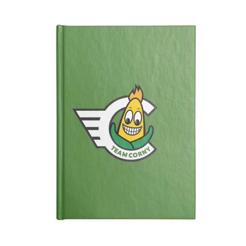 Team Corny 2018 Accessories Lined Journal Notebook by TwistyMini Motoring Shirts