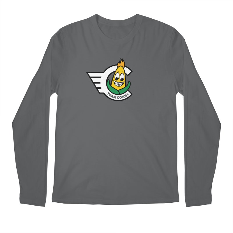 Team Corny 2018 Men's Longsleeve T-Shirt by TwistyMini Motoring Shirts