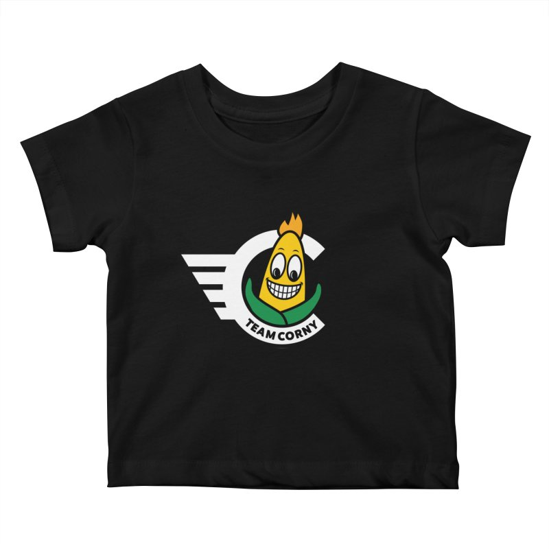 Team Corny 2018 Kids Baby T-Shirt by TwistyMini Motoring Shirts