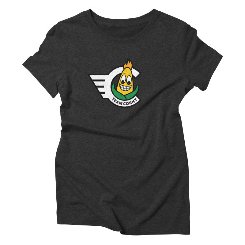 Team Corny 2018 Women's Triblend T-Shirt by TwistyMini Motoring Shirts