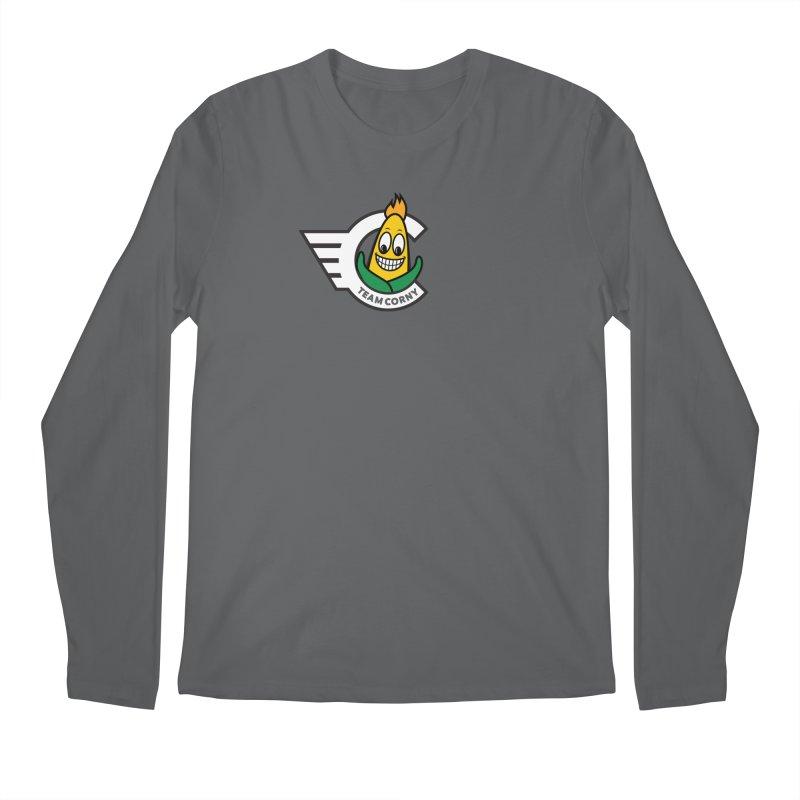 Team Corny 2018 Men's Longsleeve T-Shirt by TwistyMini Motoring Shirts