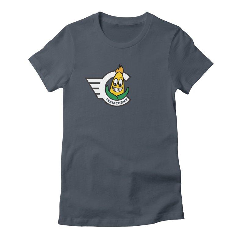 Team Corny 2018 Women's T-Shirt by TwistyMini Motoring Shirts