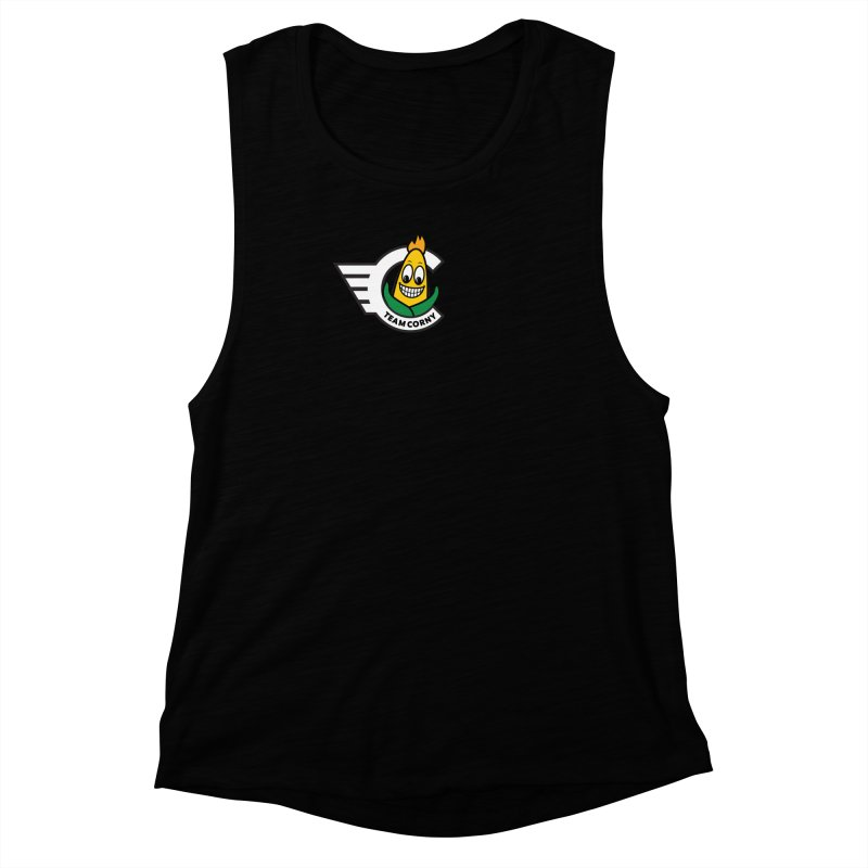 Team Corny 2018 Women's Muscle Tank by TwistyMini Motoring Shirts