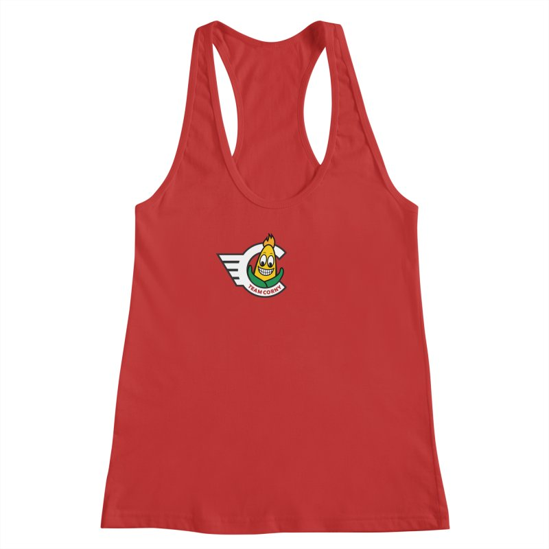 Team Corny 2018 Women's Racerback Tank by TwistyMini Motoring Shirts