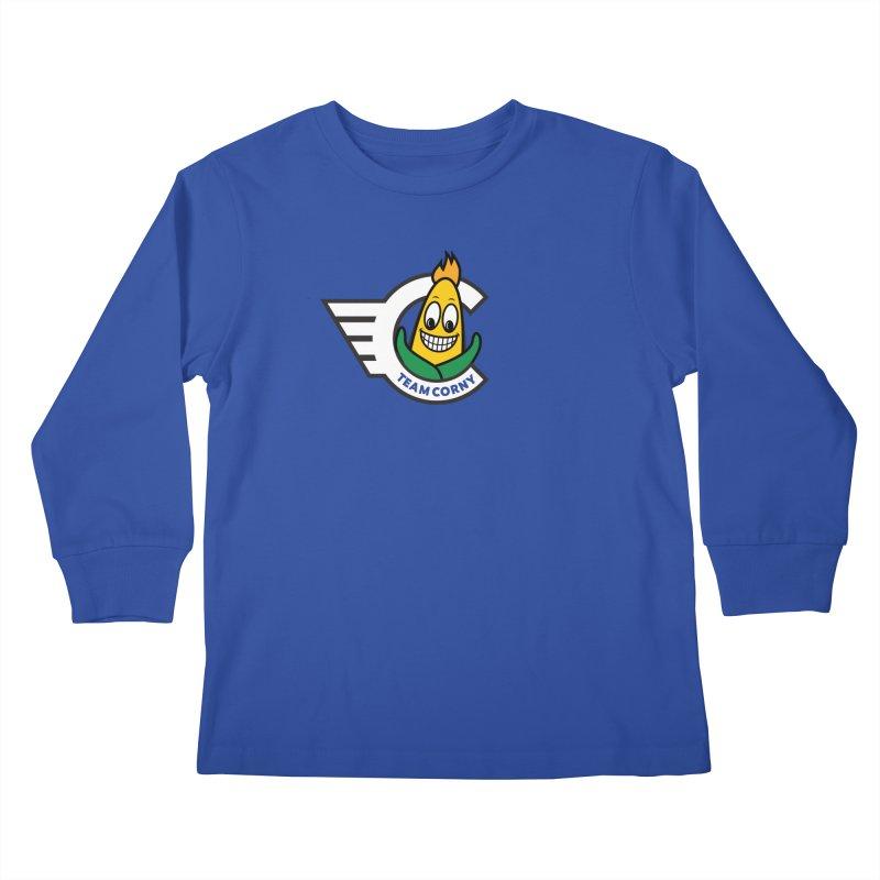 Team Corny 2018 Kids Longsleeve T-Shirt by TwistyMini Motoring Shirts