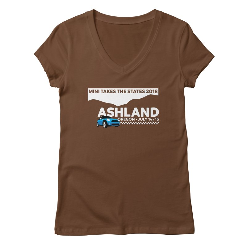 MTTS 2018 - Ashland Women's Regular V-Neck by TwistyMini Motoring Shirts