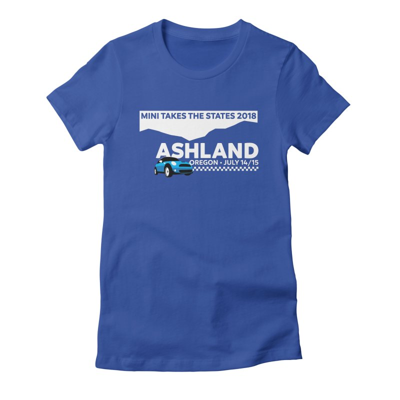 MTTS 2018 - Ashland Women's Fitted T-Shirt by TwistyMini Motoring Shirts