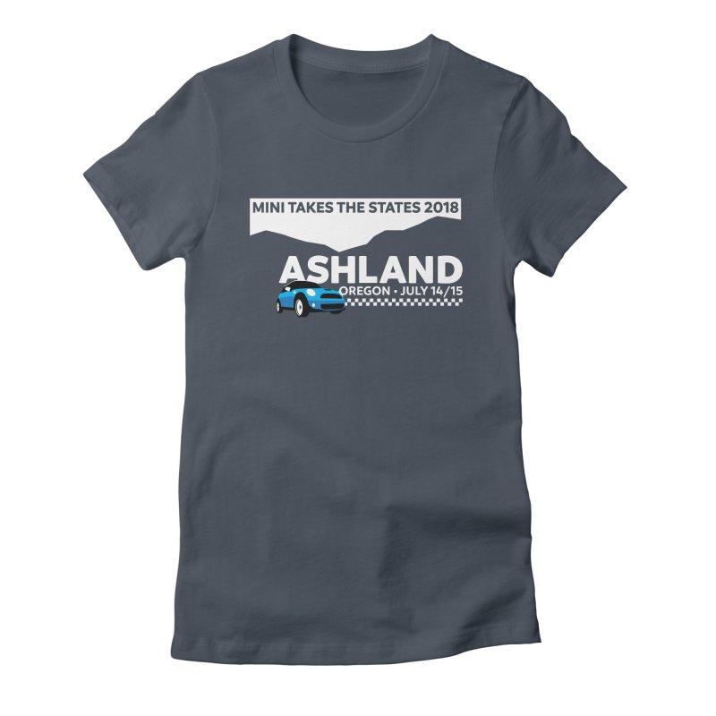 MTTS 2018 - Ashland Women's Fitted T-Shirt by TwistyMini Motoring Shirts