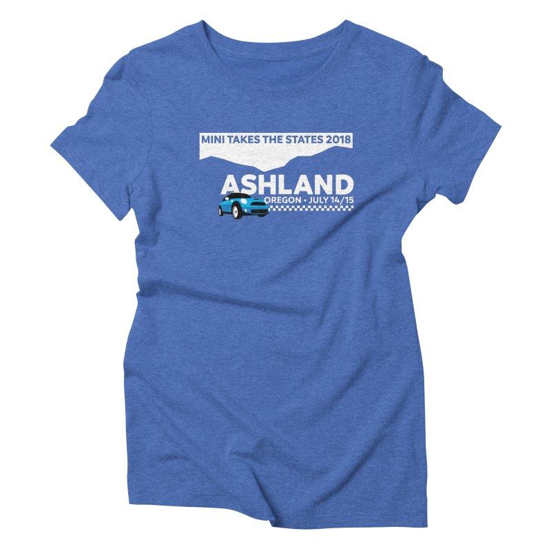 MTTS 2018 - Ashland Women's Triblend T-Shirt by TwistyMini Motoring Shirts