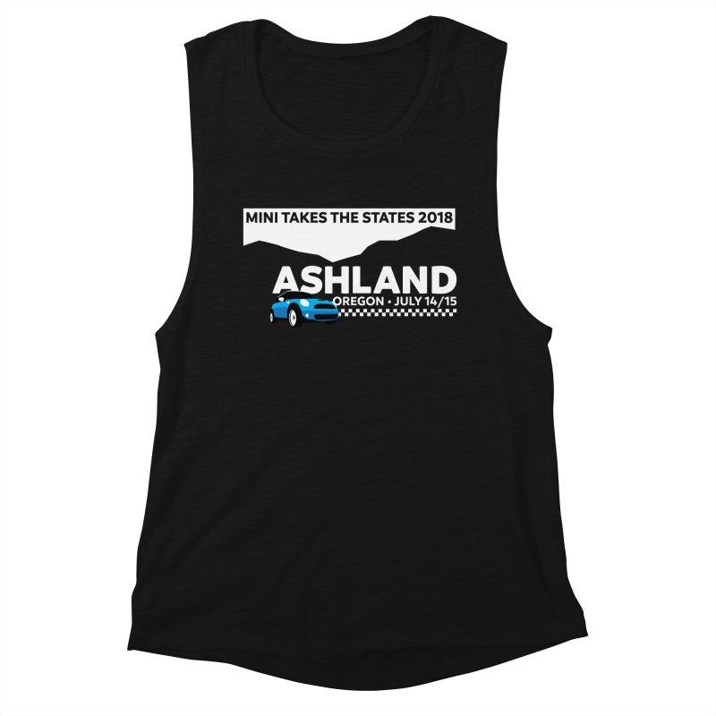 MTTS 2018 - Ashland Women's Muscle Tank by TwistyMini Motoring Shirts