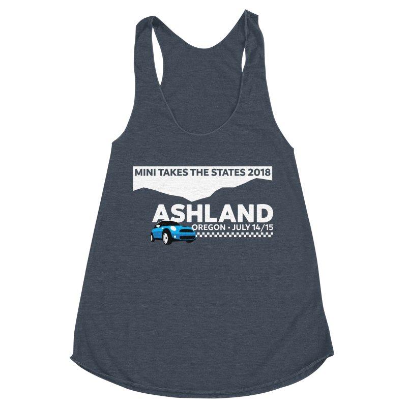 MTTS 2018 - Ashland Women's Racerback Triblend Tank by TwistyMini Motoring Shirts