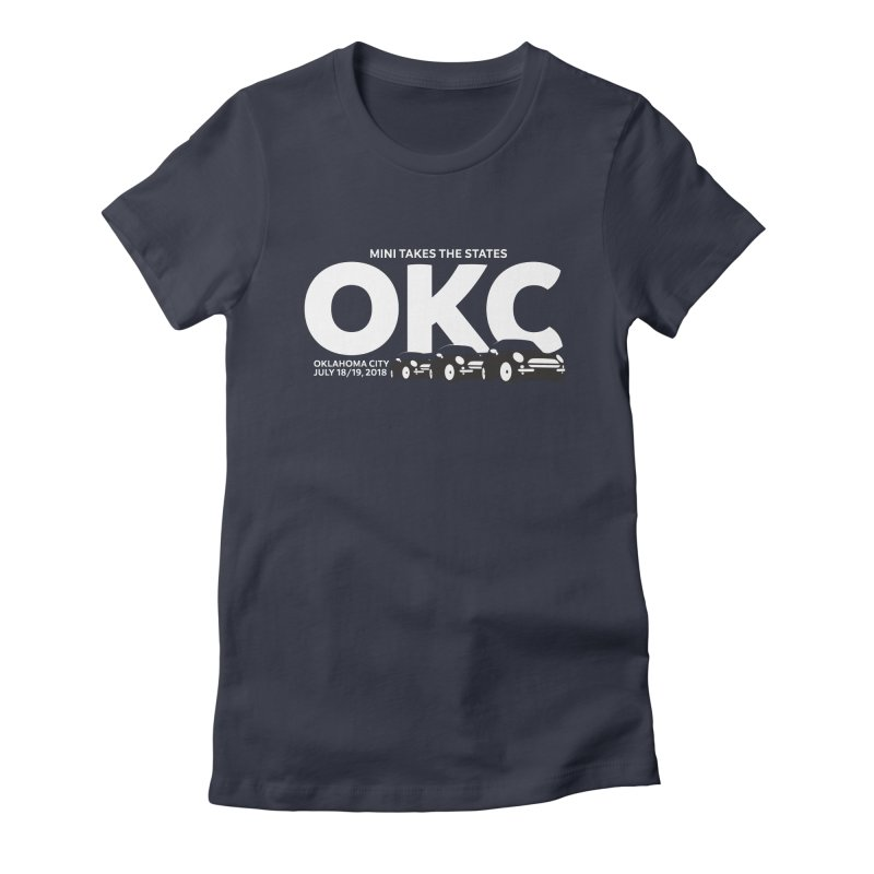 MTTS 2018 - Oklahoma City Women's Fitted T-Shirt by TwistyMini Motoring Shirts