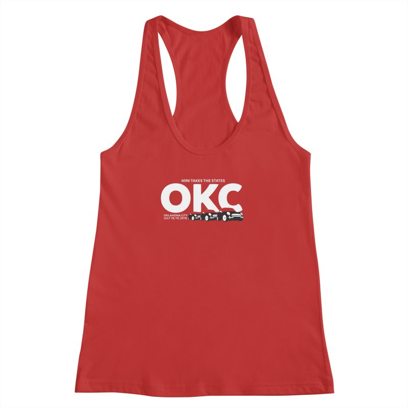 MTTS 2018 - Oklahoma City Women's Racerback Tank by TwistyMini Motoring Shirts