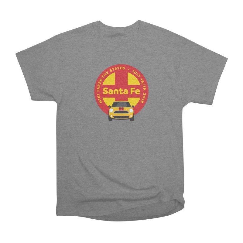 MTTS 2018 - Santa Fe Men's Heavyweight T-Shirt by TwistyMini Motoring Shirts